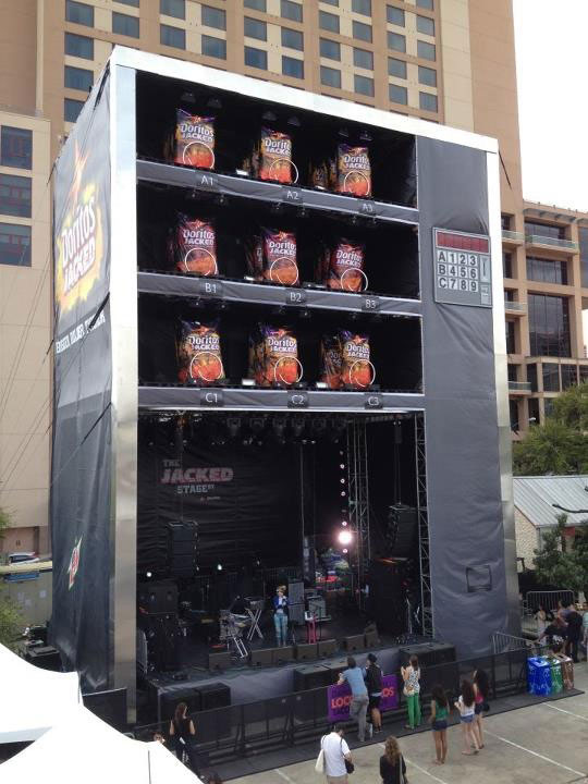 Doritos Vending Machine – SXSW 2012