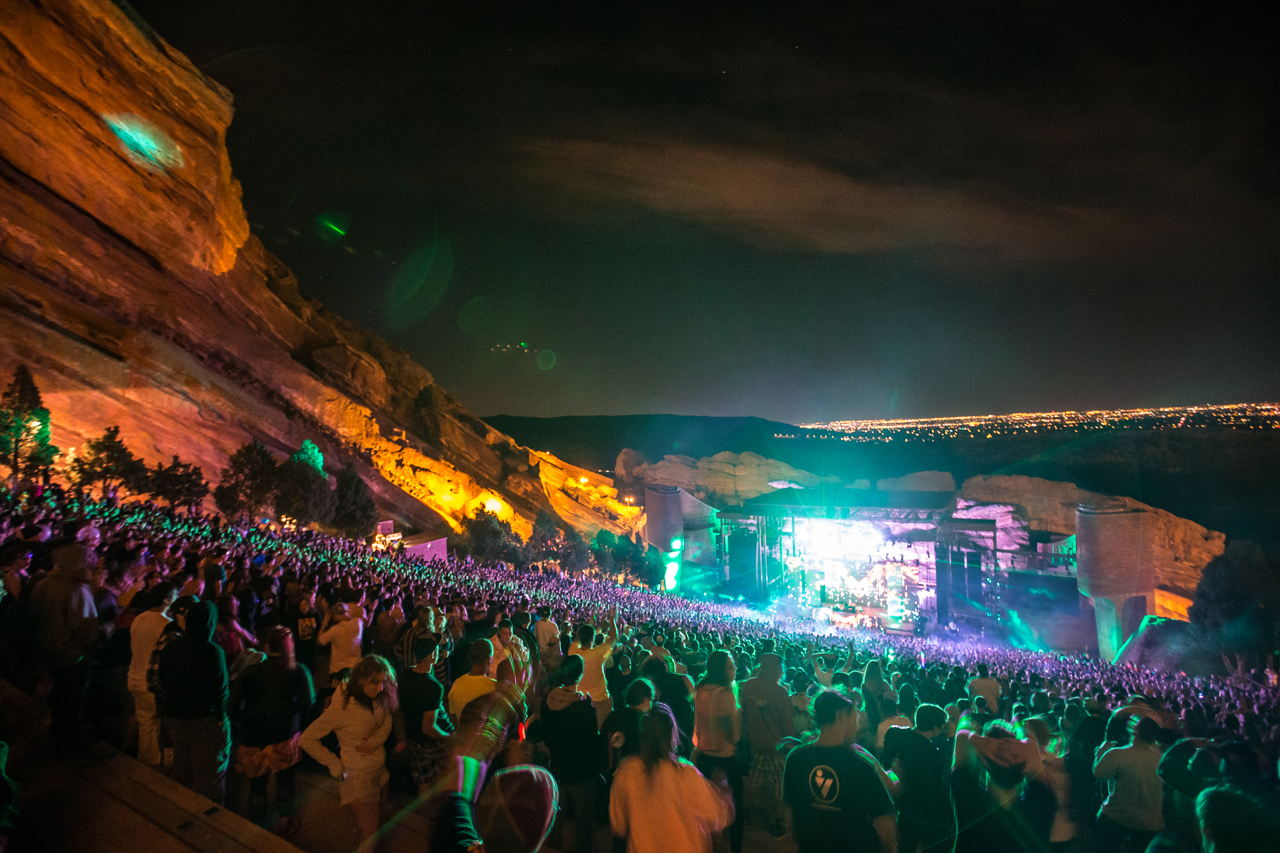 Bassnectar Red Rocks 2013